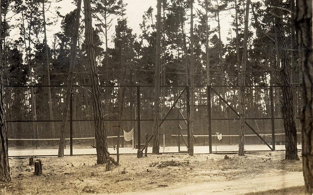 Camp Carmel Valley Douglas Ranch Camp tennis court
