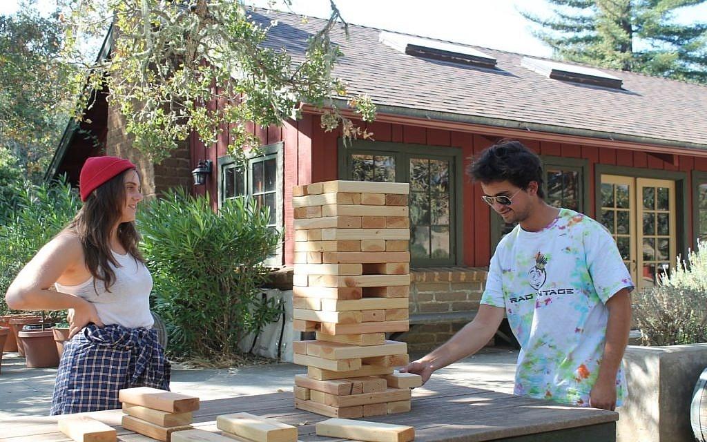 Camp Carmel Valley Lawn Games