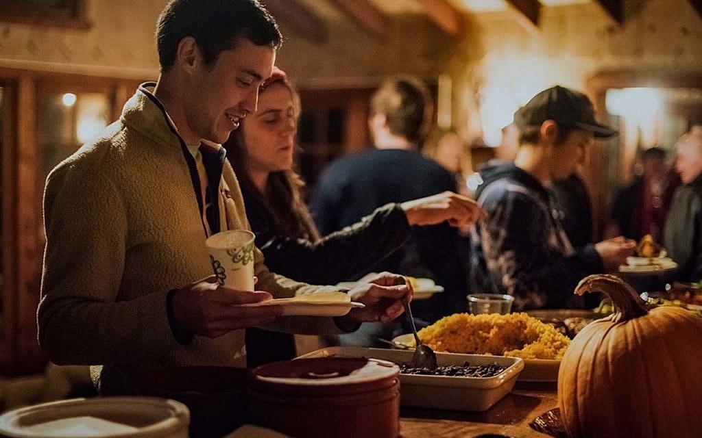 Food at Camp Carmel Valley